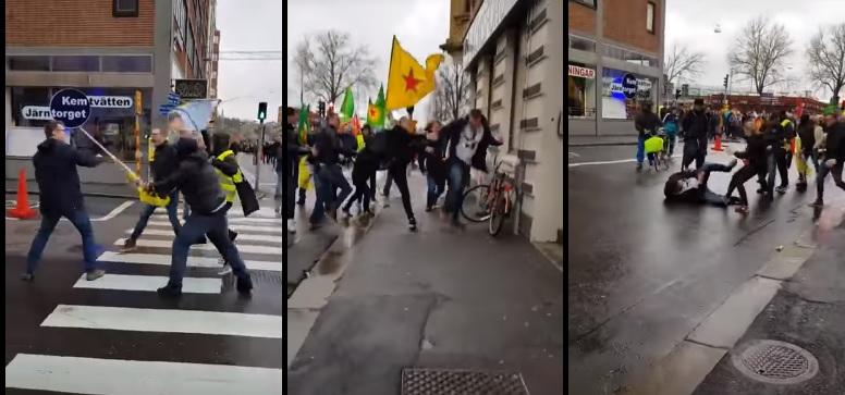 antifascistas suecia