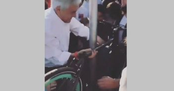 piñera ladron de bicicletas