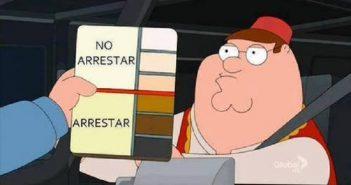 famili guy control identidad detencion sospecha