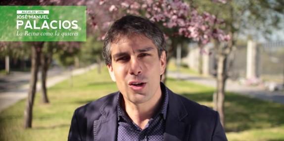 Jose Manuel Palacios alcalde fascista udi la reina