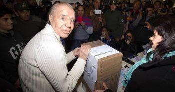 La Rioja. Elecciones 2017.PASO: Carlos Menem.