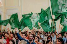 revolucion democractica banderas