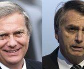 """José Antonio Kast le lamió las gónadas al fascista y fanático religioso Jair Bolsonaro asegurando que """"era la esperanza de Brasil"""""""