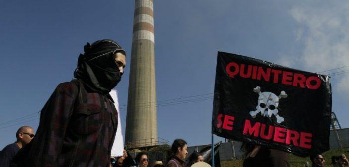 Nueva Marcha contra la Contaminacion en Quintero