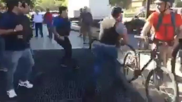 policia municipal ilegal providencia