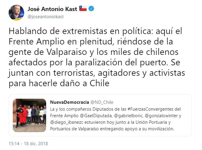 kast fascista empleado de los empresarios