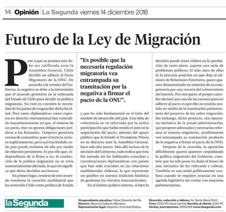 pacto migratorio onu la segunda