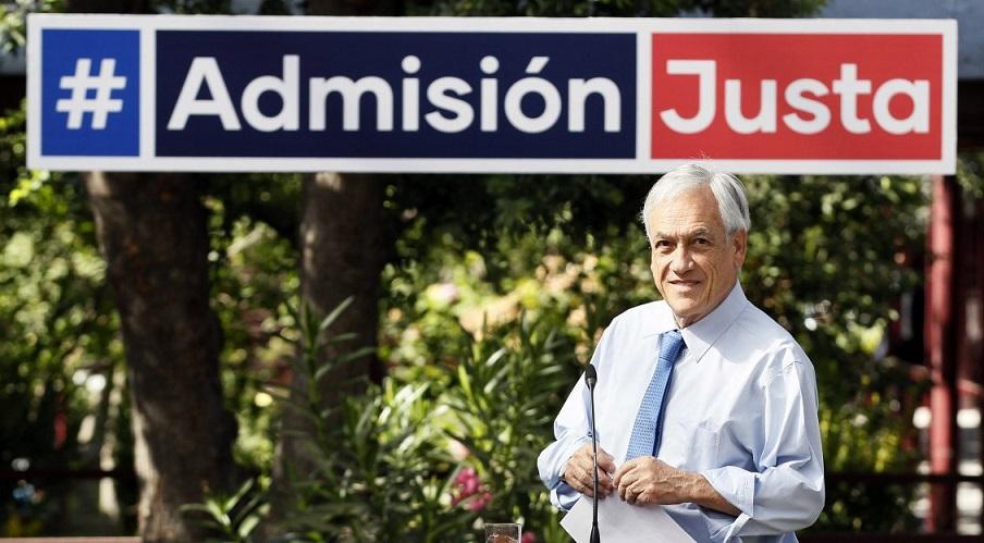 admision justa 2