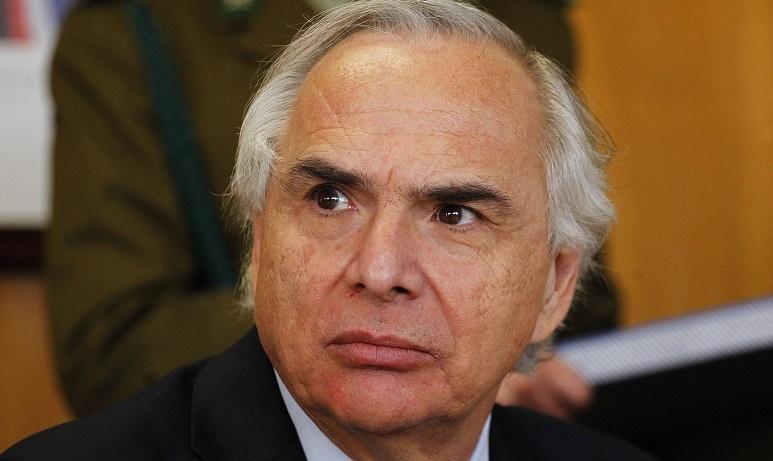 Ministro Chadwick encabeza reunion de Comite Policial Regional en Valparaiso.