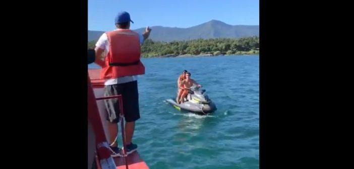"""VIDEO: Zorrones de mierda expulsan a familia en Pucón ya que """"estaban muy cerca de su playa"""""""
