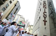 conicyt protesta