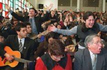 evangelicos ladrones de mierda le roban a los pobres