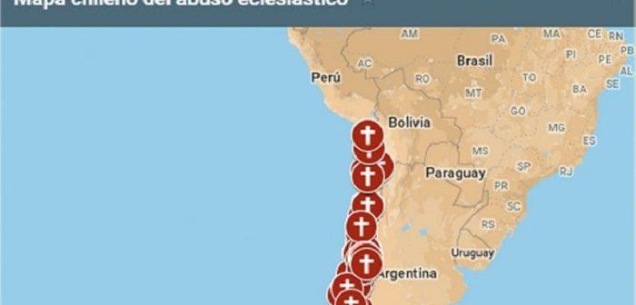mapa abusos curas de mierdai