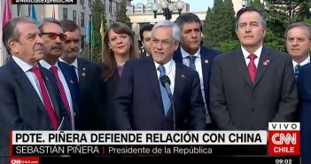 piñera china dictadura comunista