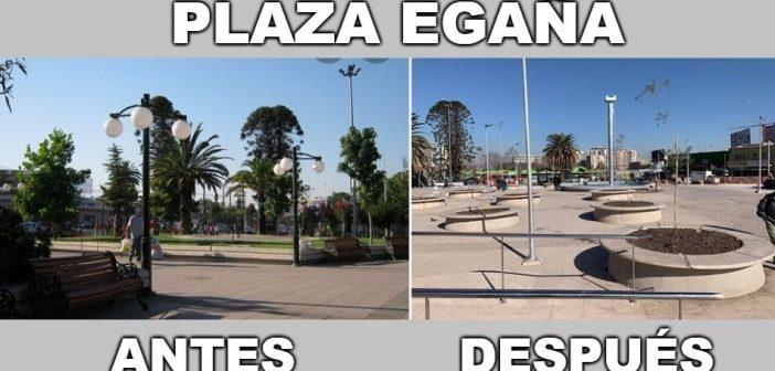PLAZA EGAÑA ANTES Y DESPUÉS 2