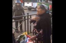 señra vendedora verduras pacos de mierda 2