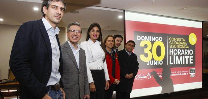 Alcaldes que participan en la Consulta Ciudadana Electronica Horario Límite