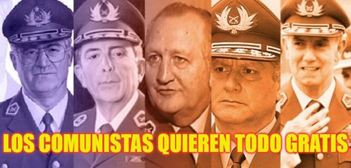 GENERALES CARABINEROS DELINCUENTES 2