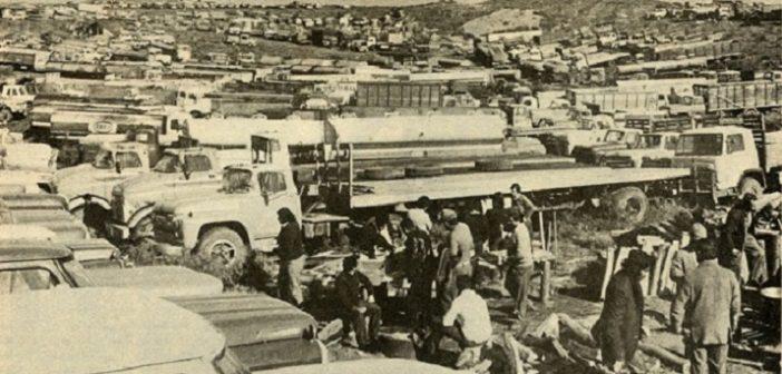 camioneros fachos golpe de estado