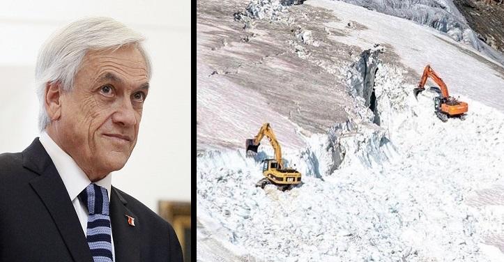 piñera glaciares