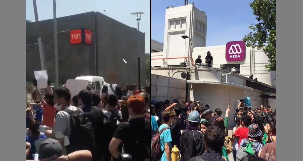 PROTESTA MEDIOS