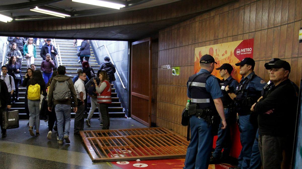 evasion metro 1