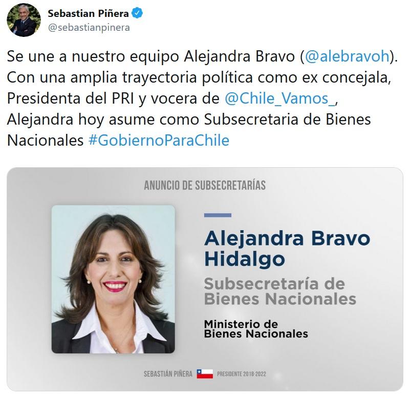 alejandra bravo piñera 2