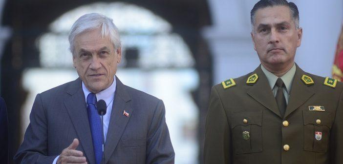 El presidente de la Republica nombra al nuevo General Director de Carabineros
