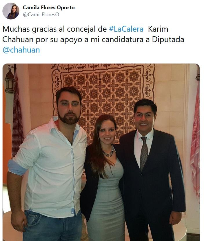 KARIM CHAHUAN CAMILA FLORES DELINCUENTES DE MIERDA 2