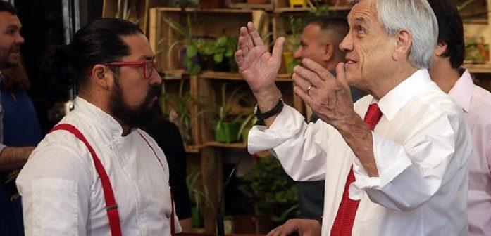 piñera chef mapuche