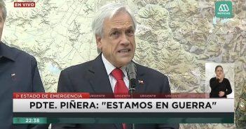 piñera guerra