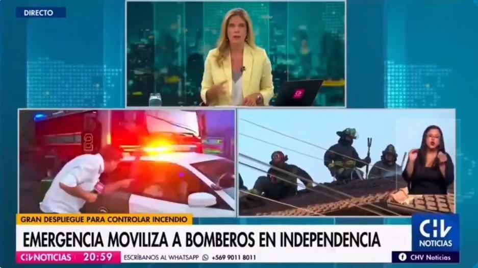 periodista chorizo chv