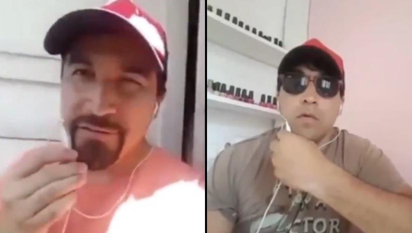 FACHO NAZI RECULIAO CON LA MEDIA PERA CTM