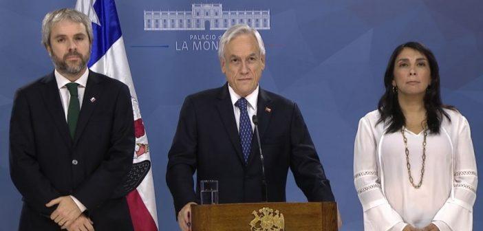 En 4 meses de estallido social el Régimen de Piñera no ha presentado NINGUNA reforma estructural que el pueblo pide, pero ha presentado SIETE proyectos para reprimir manifestaciones