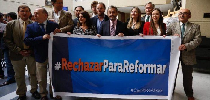 rechazar para reformar 8
