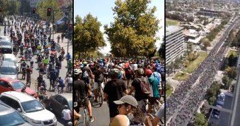 ciclistas pulentos por el APRUEBO 2