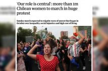 marcha mujeres the guardian
