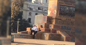 piñera sociopata plaza dignidad 1
