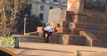 piñera sociopata plaza dignidad 2