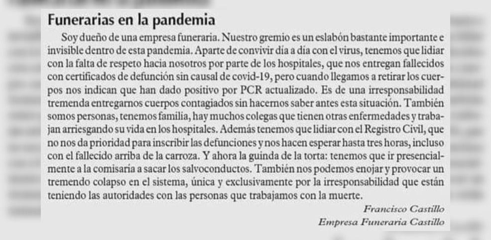 funeraria pandemia
