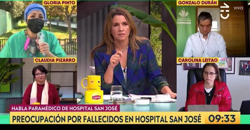 gloria pinto hospital san jose
