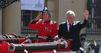 piñera bomberos 3