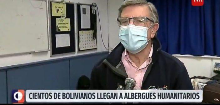 Campaña de la TV ya es absurda: Daniel Jadue ayudó a las personas bolivianas que estaban en la calle pero entrevistaron a Joaquín Lavín