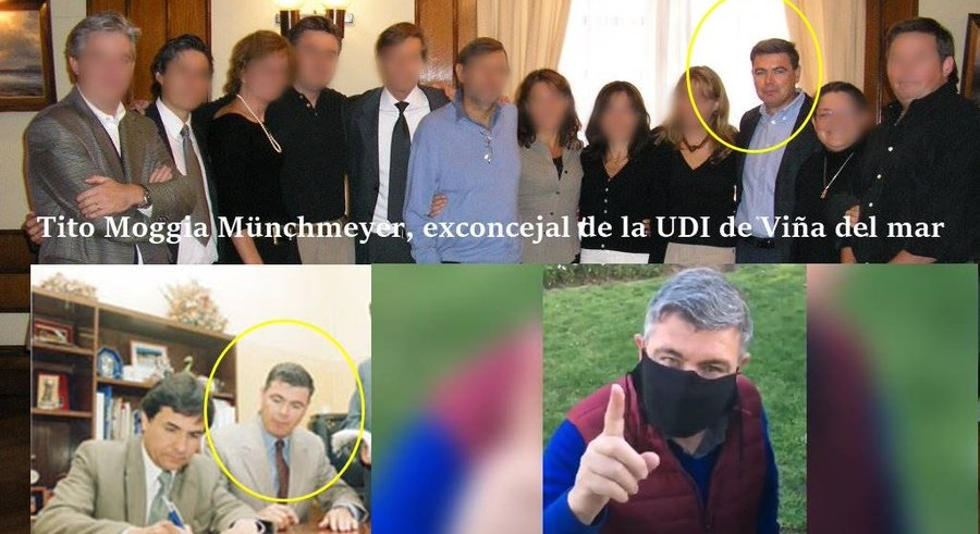 Tito Moggia Münchmeyer facho de mierda