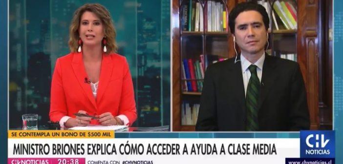 VIDEO: Macarena Pizarro le preguntó CUATRO VECES al Ministro Briones sobre compatibilidad de anuncios si se aprobaba el retiro del 10%… El empleado de las AFP se negó a responder