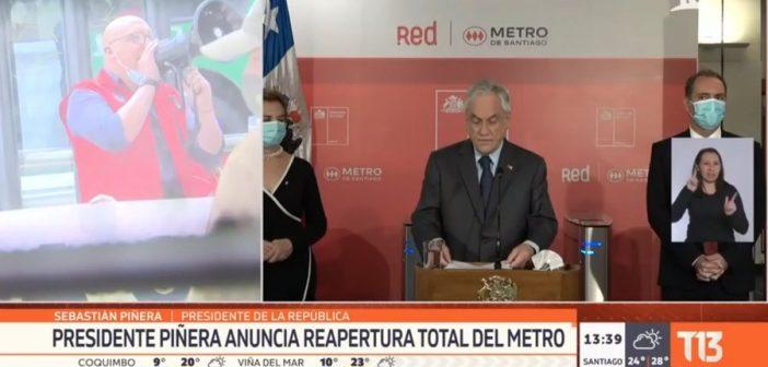 VIDEO: Piñera se desarmó entero tras ser funado por Trabajadores del Metro, Pelao Detonao lo dejó con cagadera