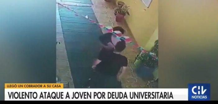 La educación chilena tocó fondo: Universidad Andrés Bello contrata matones para golpear a los estudiantes con cuotas atrasadas