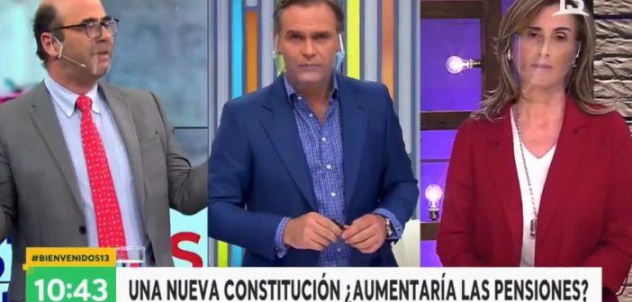 VIDEO: En 2 minutos Fernando Atria explicó las mentiras del RECHAZO, la fascista Marcela Cubillos casi sale arrancando