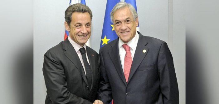 Todos los fachos son delincuentes: Ex presidente de Francia Nicolas Sarkozy, amigo íntimo de Piñera, fue condenado a la cárcel por corrupción
