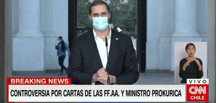 Oficialmente nos convirtieron en Venezuela: Jaime Bellolio defendió que los militares quieran censurar la libertad de expresión